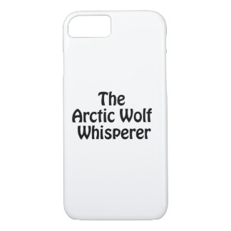 the arctic wolf whisper iPhone 7 case