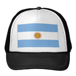 The Argentinian national flag (side) Cap