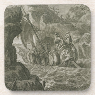The Argonauts Pass the Symplegades (engraving) Coaster