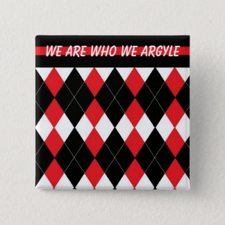 The Argyle Sweaters Affirmation Button