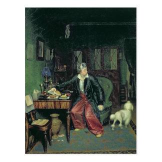 The Aristocrat's Breakfast, 1849-50 Postcard