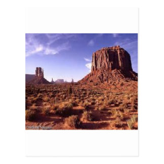 The Arizona Mountains Postcard