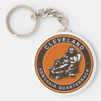 The Armchair QB Cleveland Football Keychain