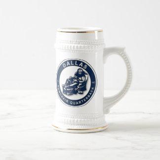 The Armchair Quarterback - Dallas Football Fans Beer Stein