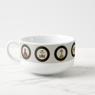 The Armenian Symbols Soup Mug