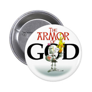 THE ARMOR OF GOD Button