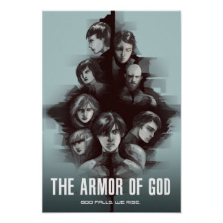 """The Armor of God"" Characters Poster"