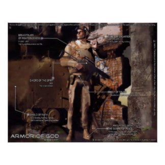 The Armor of God - Modern Interpretation Poster