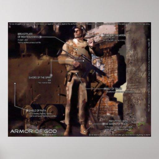 The Armor of God - Modern Interpretation Posters