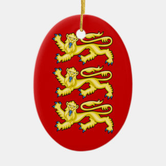 The Arms of England Christmas Ornament