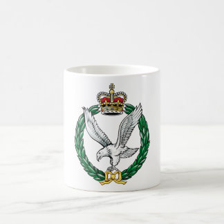 The Army Air Corps Basic White Mug