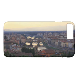 The Arno river and Ponte Vecchio in Florence, iPhone 7 Plus Case