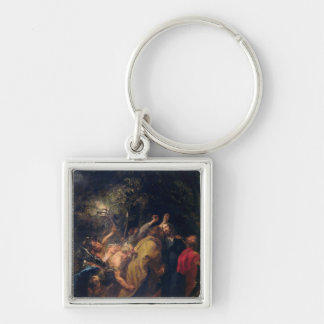 The Arrest of Christ in the Gardens, c.1628-30 Keychain