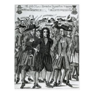 The Arrest of Judge Jeffreys  1689 Postcard