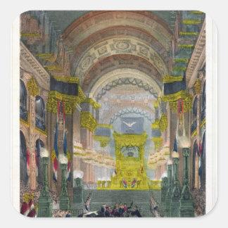 The Arrival of Napoleon's Ashes Square Sticker