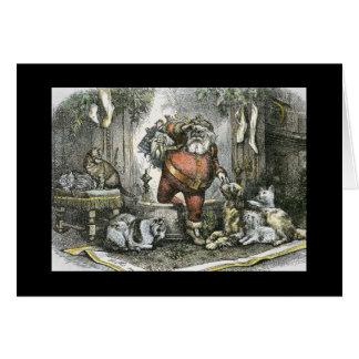 The Arrival of Saint Nicholas Card