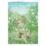The Arrival of Spring Greeting Card