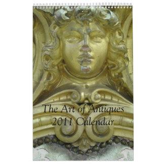 The Art of Antiques 2015 Calendar