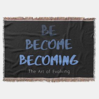 The Art of Evolving Throw Blanket