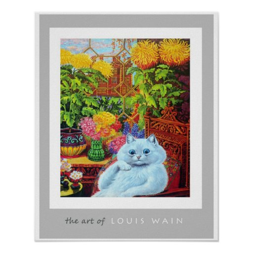 The Art of Louis Wain Print