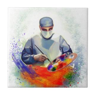 The Art of Medicine Ceramic Tile