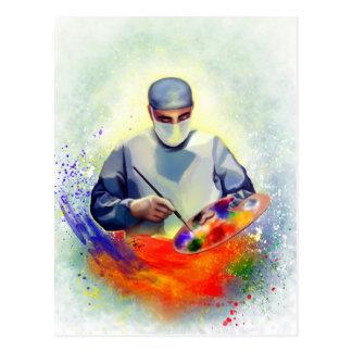 The Art of Medicine Postcard