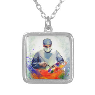 The Art of Medicine Silver Plated Necklace