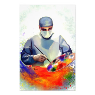 The Art of Medicine Stationery Design