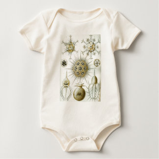 The Art of Nature by Ernst Haeckel Baby Bodysuit