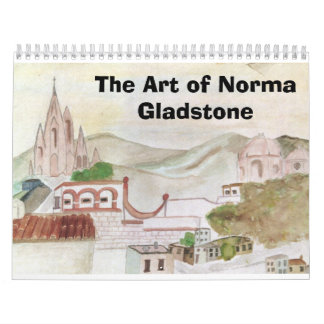 The Art of Norma Gladstone Calendar