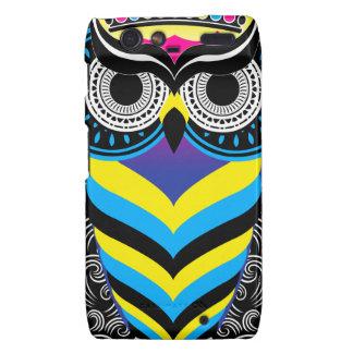 The Art of the Owl Motorola Droid RAZR Covers