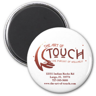 The Art of Touch Magnet