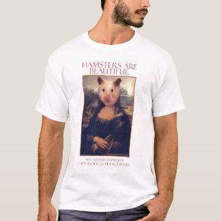 The Artful Hamster Mona T-Shirt