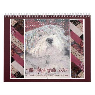 The Artful Westie 2017 Calendar