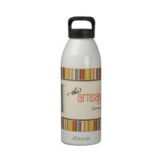 The Artisan Group MEMBER Water Bottle crochet