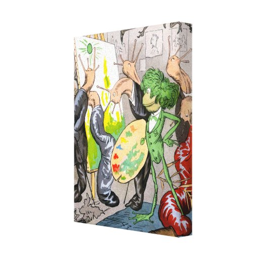 The Artist Gallery Wrap Canvas