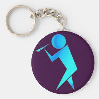 The Artist Key Ring