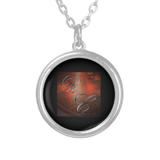 The Artist Logo sterling silver plated necklace