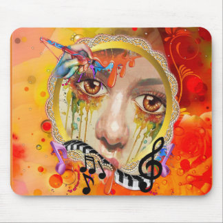 The Artist pallet Mouse Pad