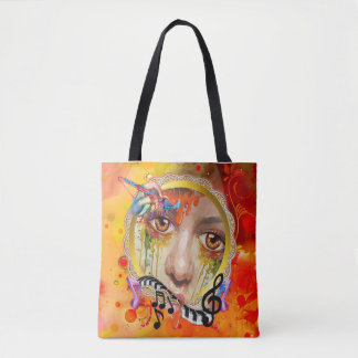 The Artist pallet Tote Bag