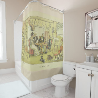 the artist  room shower curtain
