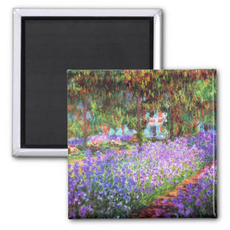 The Artist s Garden at Giverny Claude Monet Fridge Magnets