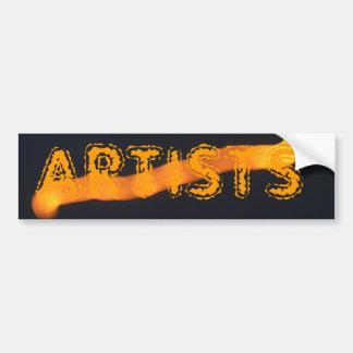 The Artists Bumper Sticker