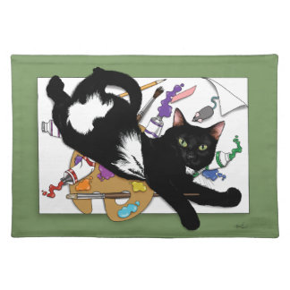 The Artist's Cat Placemats