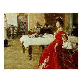 The Artist's Daughter, 1905 Postcard