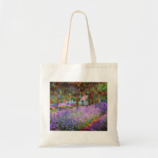 The Artist's Garden at Giverny by Monet Tote Bag