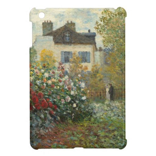 The Artist's Garden in Argenteuil iPad Mini Cover
