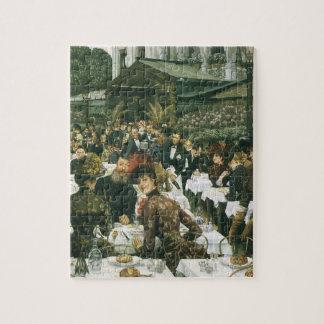 The Artist's Ladies by James Tissot, Vintage Art Jigsaw Puzzle