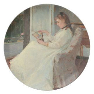 The Artist's Sister at a Window, 1869 Party Plates