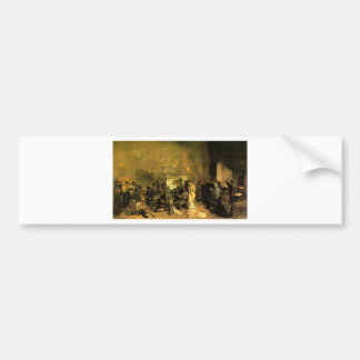 The Artist's Studio by Gustave Courbet Bumper Sticker